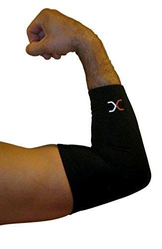 Beste Compression Kupfer Recovery Comfort Ellenbogen-Sleeve, höchste Kupfer Inhalt garantiert & höchste Qualität Kupfer, Unterstützung für Basketball, Golf oder Tennis Sleeve nur