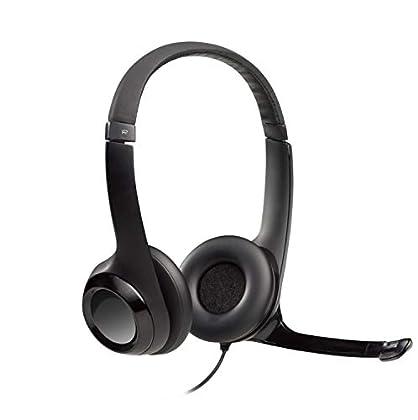 Logitech H390 - Auriculares con micrófono USB (...