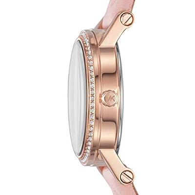 Michael Kors Reloj Analógico para Mujer de Cuarzo con Correa en Cuero MK2683 de Michael Kors