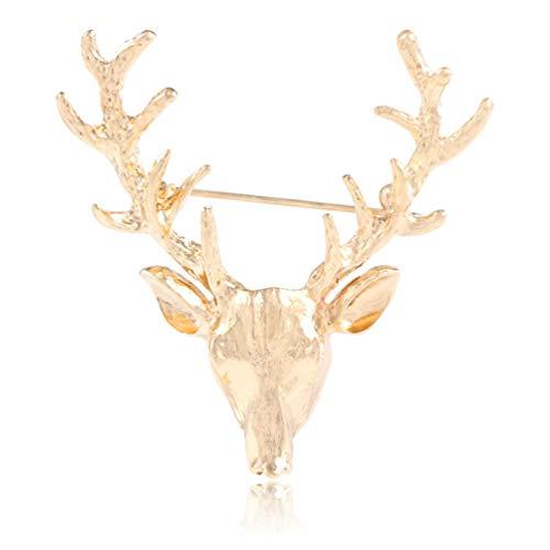 YYOGG Brosche Europäische Und Amerikanische Populäre Cat Eyewear Creative Hollow Hollow Deer Brosche