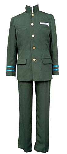 Chong Seng CHIUS Cosplay Costume Namimori Junior High Male School Uniform Set Version ()