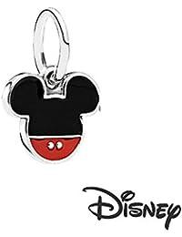 Générique Charms Disney Mickey para Pulsera Estilo Pandora Plata 925/1000