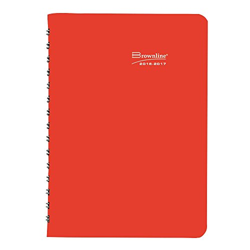 Download Brownline Agenda scolaire journalier, couleurs assorties, la couleur peut varier, 20,3 x 12,7 cm (Ca201. Fasx-17)
