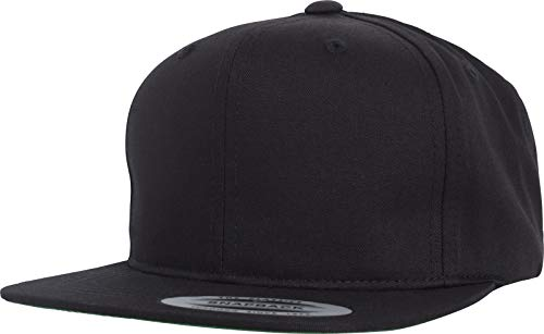 Flexfit Kinder Pro-Style Twill Snapback Youth Cap Kape, Black, 2-6 Jahre (New Era-mütze 7 3 4)