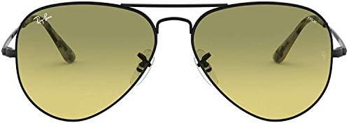 Ray-Ban 0rb3689 Polarized Aviator Sunglasses Black 55.0 mm