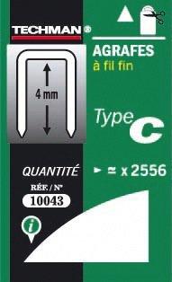 AGRAFE OUTIF.N.34 8MM BTE 5000PC