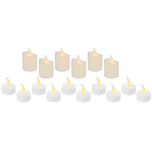 Mia Light LED luci, Set da tè, Je 1LED Pro Lumino, Ø 40, H 20/40, Bianco