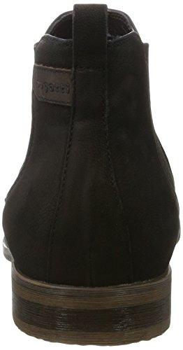 bugatti Herren 311143213500 Chelsea Boots Schwarz (Schwarz)