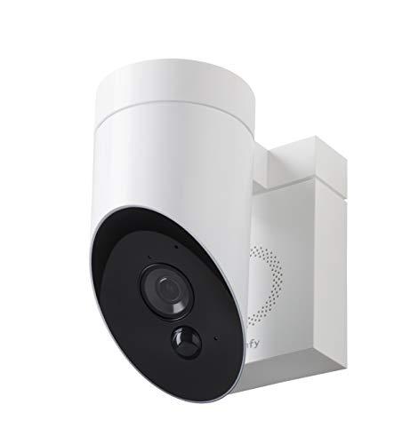 31gSNt3ifCL [Bon Plan Smarthome!]  Somfy 2401560 - Outdoor Camera | Caméra de surveillance extérieure Wifi | 1080p Full HD | Sirène 110 dB | 3 branche...