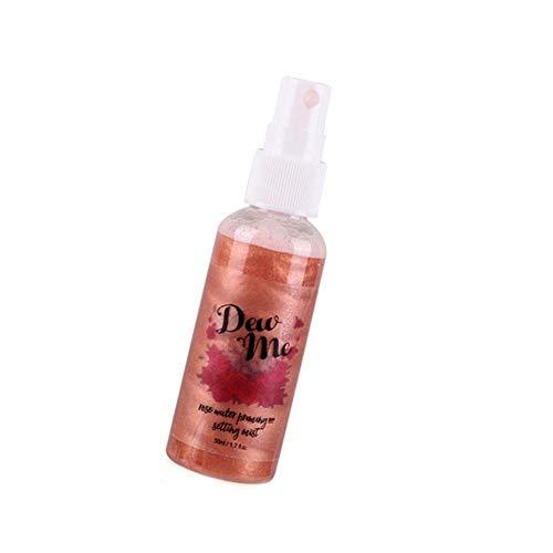 Bronzer Highlighter Liquid Setting Spray Erleuchtender Gesichtsschimmer Langanhaltendes Make-up Glow...