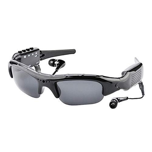 Aroncent Bluetooth Sonnenbrille Multi-Funktion Fahrbrille 1080p Kamera, MP3-Player, Bluetooth Kopfhörer, digitaler DV, Polarisierte Sportbrillen
