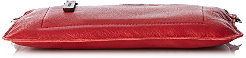 Paquetage  Bt, Damen Clutch Rot - Rouge (081/Cooked)