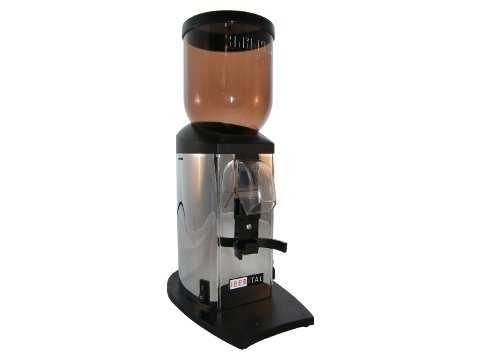 Iberital 28972 Challenge Kaffeemühle chrom mit Timer Kegelmahlwerk
