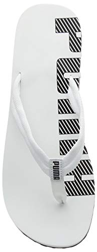 Puma Epic Flip V2, Infradito Unisex – Adulto, Bianco (white-black), 43 EU