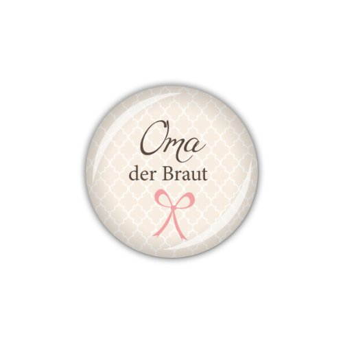 "Button ""Oma der Braut"""