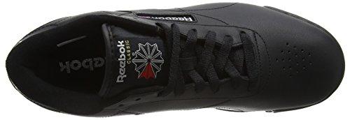Reebok - Exofit Lo Clean Logo, Scarpe da ginnastica Uomo Black (Int-Black/Silver/Silver)