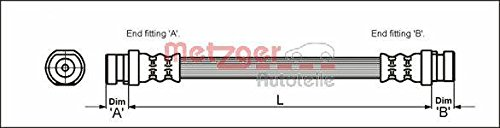 Metzger 4111168 Bremsschlauch
