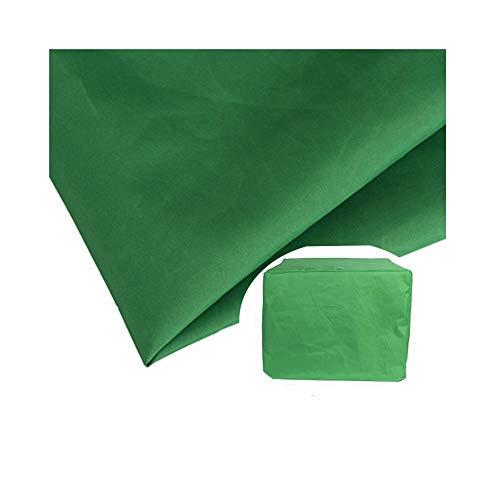 AMDHZ Abdeckhauben for Möbelsets Schutz Staubdicht Draussen Klimaanlage Ausrüstung Gerät Regal, 5 Farben, 10 Größen (Color : Green, Size : 80x80x80cm) -