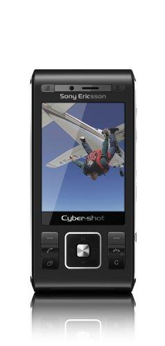 Sony Ericsson C905 Handy (8MP, GPS, WLAN) Night Black Qvga Tv