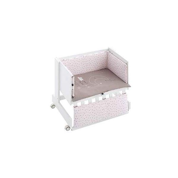 Bimbi Mini Cot Bimbi Casual baby bedroom. Cot bedroom. Natural mini bedspread 15