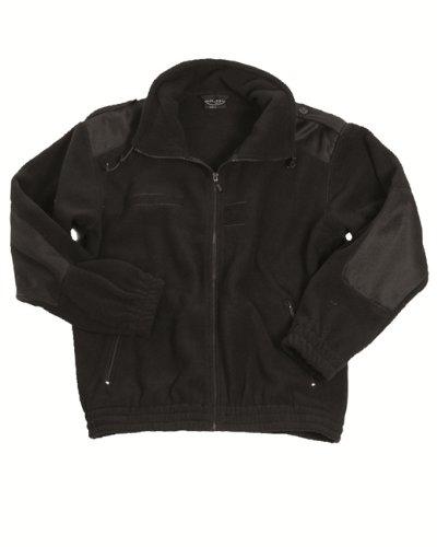 Kälteschutzjacke Fleece 3 Farben zur Wahl, schwarz, L -