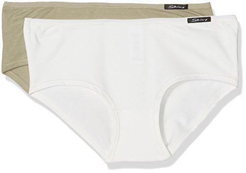 Skiny Damen Panties Advantage Cotton Panty Dp, 2er Pack safari selection