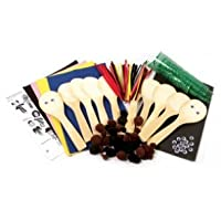 Creation Station People Wooden Spoons Kit  Class Pack, Pack of 10