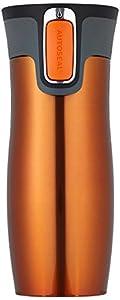 West Loop Trinkflasche  tangerine, 470 ml, 1000-0216, ohne Logo