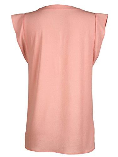 Damen Blusenshirt mit Flügelarm by AMY VERMONT Apricot