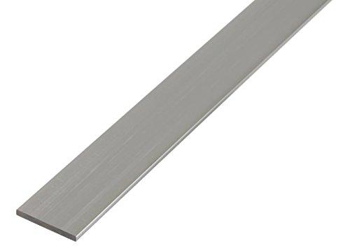 GAH-Alberts 472047 Flachstange - Aluminium, natur, 2000 x 50 x 3 mm