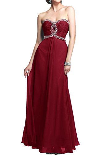 Ivydressing - Robe - Trapèze - Femme Rouge - Rouge bordeaux