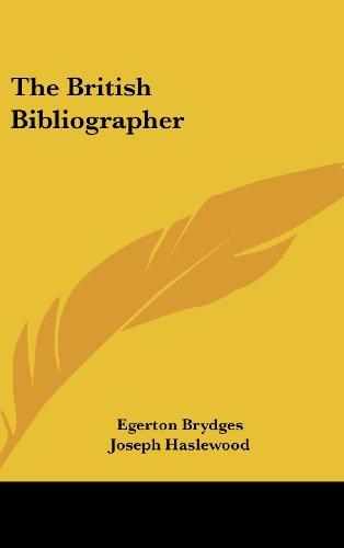 The British Bibliographer