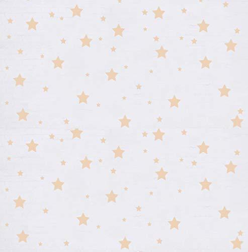 """Docliick®Pegatina de pared para habitación infantil """"Set 150 ud. ESTRELLAS ADHESIVAS """" Vinilos decorativos de estrellas. Vinilo para decorar habitaciones. Pegatinas decorativas para pared modelo Docliick DC-18010 (Beige)"""