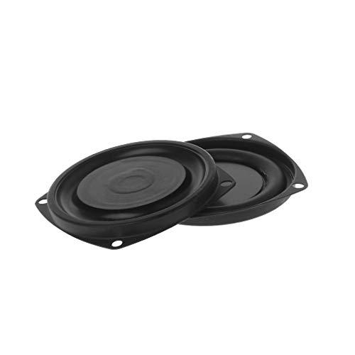 "certylu Unterhaltungselektronik, Woofer Kühler Passive Lautsprecher Niederfrequenzlautsprecher Membran Vibrationsplatte 2 STÜCKE 3"""