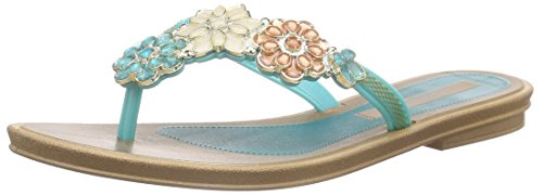 Grendha Splendore Thong Fem Damen Zehentrenner Blau (light blue 8502)
