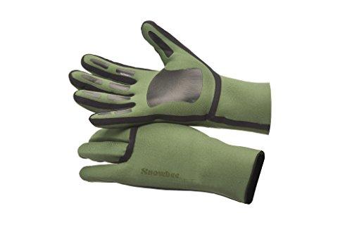 Snowbee Soft Neopren Handschuhe grün Medium