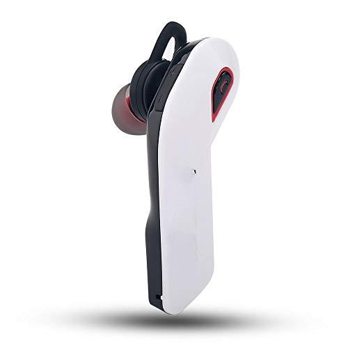 CHENKLE Bluetooth Kopfhörer Neue Bluetooth Wireless Headsets V4.1 Stereo Auto Business Freisprecheinrichtung Kopfhörer CVC6.0 Noise Cancelling für, Weiß