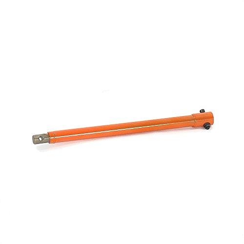 erdlochbohrer 300 mm FUXTEC Benzin Erdbohrer-Verlängerung 400 mm / 40 cm mit Schaftaufnahme 20 mm