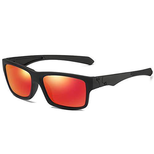 FGRYGF-eyewear Sport-Sonnenbrillen, Vintage Sonnenbrillen, Polarized Sunglasses Men's Driving Shades Male Sun Glasses For Men Retro Cheap NEW Luxury Oculos Red