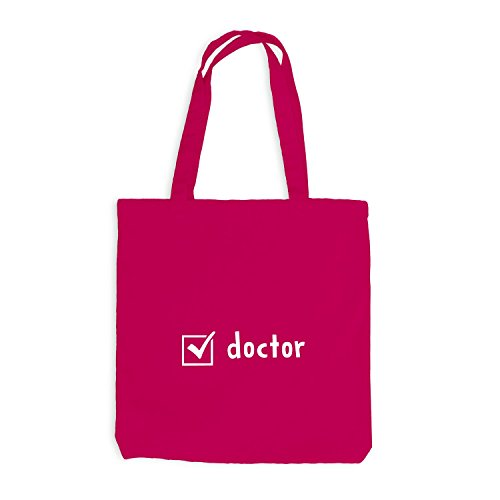 Jutebeutel - Check Doctor - Doktor Checkbox Pink