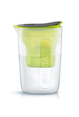 Brita 1029597 Wasserfilter Fun mit Maxtra+ Filterkartusche, 1,5 l, Polypropylen, limone