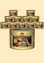 Warnicks Tierfutterservice Wolfsblut WILD Duck Nassfutter 6 x 200g enthält 66% frisches Entenfleisch