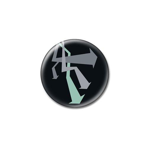 Set da 3 frecce freddo-Magneti per frigorifero, misure: 25 mm & 38 mm, Con stampa design, 38mm (1œ