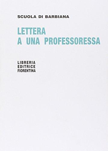 Lettera a una professoressa