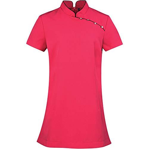 Premier Womens/Ladies Mika Beauty & Spa Uniform Mandarin Collar Tunic (Premier-beauty)