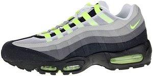 Nike 609048-083, Herren Sneaker grau grau, Herren, Grau/Gelb (Cool Grey/Neon gelb)