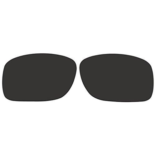 ACOMPATIBLE Ersatz Linsen für Oakley Turbine XS (Kinder), mit oj9003Sonnenbrille, Black - Polarized