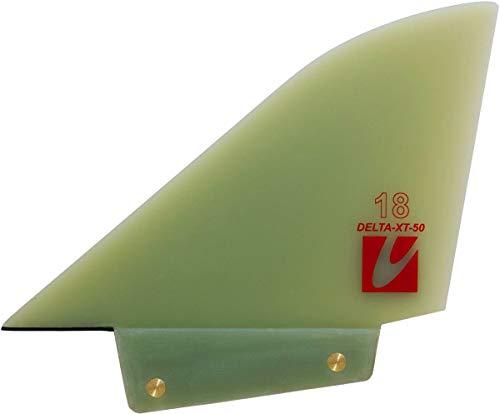 Maui Ultra Fins MUF Delta-XT Windsurf Finne, Finnenlänge:24cm, Finnen Box:Deep Tuttle Box