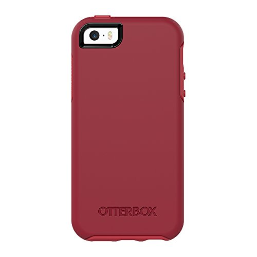 OtterBox Symmetry Series for iPhone 5/5s/SE - Retail Packaging - Rosso Corsa (Flame RED/Race RED)