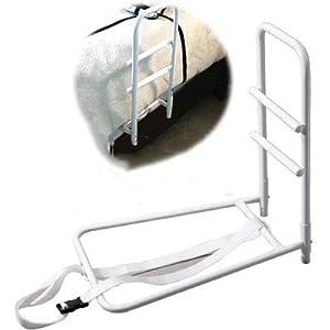 WLIXZ Home Bedside Safety Handle – Verstellbarer Bedside Rail + Stehhilfe-Handgriff für ältere Menschen